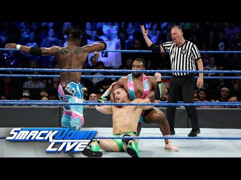 Thumbnail: The New Day vs. The Hype Bros: SmackDown LIVE, Sept. 19, 2017