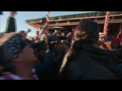 Tribe celebrates over Dakota Pipeline decision