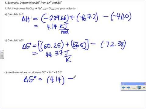 405 Thermo 5 Gibbs Free Energy