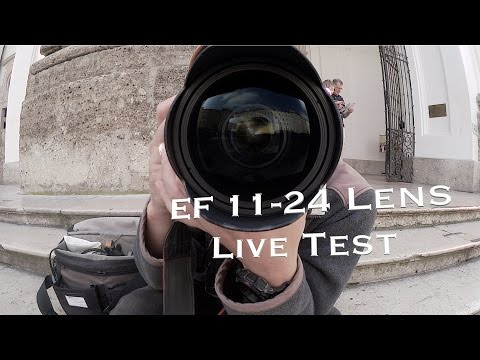 Canon EF 11-24mm F4 Lens Live Test
