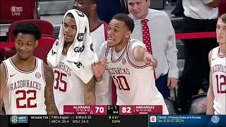 Arkansas vs. Alabama 3/9/2019