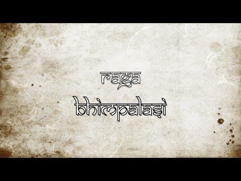 Raga Bhimpalasi (Aberi) on the sarod: 10 beat middle tempo composition