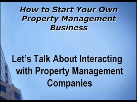 MCE How to Start Your Own Property Management Company