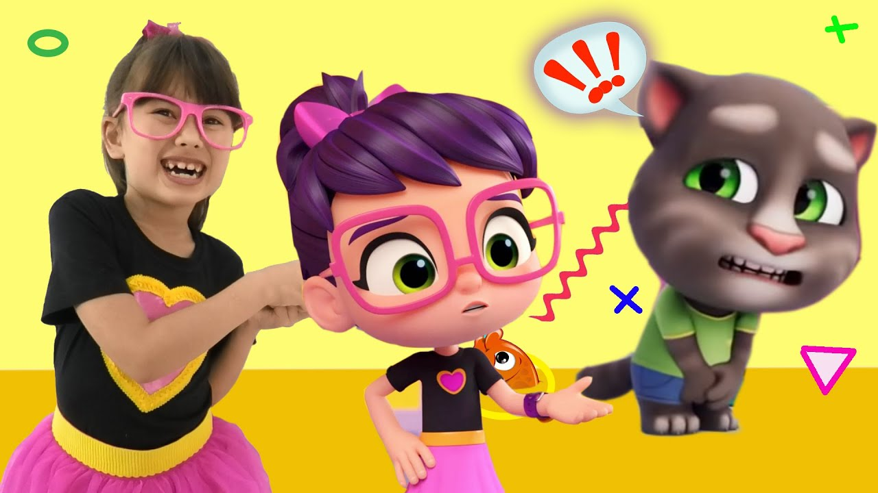 My Talking Tom And Friends – Talking Tom VS Crazy Toilet and Playing Angela | New Cartoon for Kids