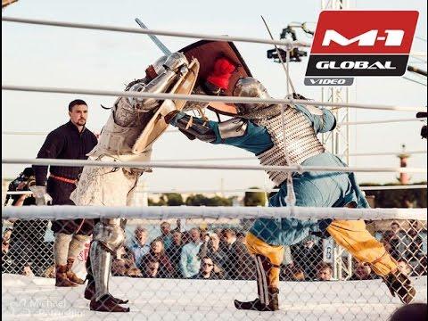Knights Fighting - Sergey Ukolov (RUS) Vs. Mike Ivey (USA), M-1 Medieval, M-1 Challenge 50