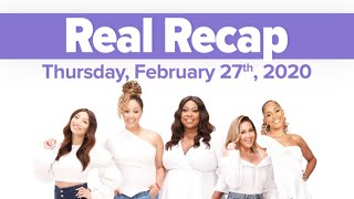 REAL RECAP: A 6-Year-Old Arrested, Dap History, and Guest Co-Host Tisha Campbell