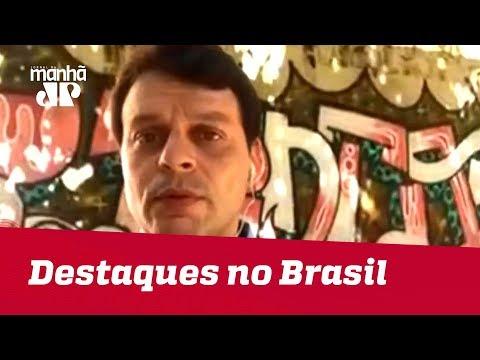 Destaques no Brasil: Barragem em Nova Lima, empresária agredida, incêndio no CT do Flamengo e mais