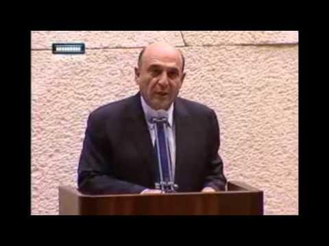 Shaul Mofaz speech on Yom Kippur War