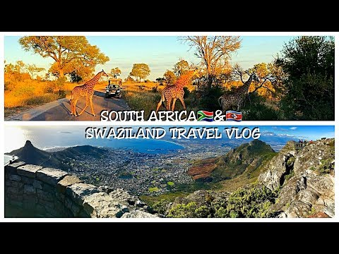 1ST TRAVEL VLOG SOUTH AFRICA TO SWAZILAND SOLO ADVENTURES