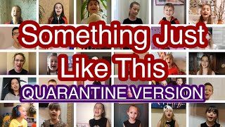 The Chainsmokers & Coldplay - Something Just Like This cover by COLOR MUSIC (Quarantine Version)