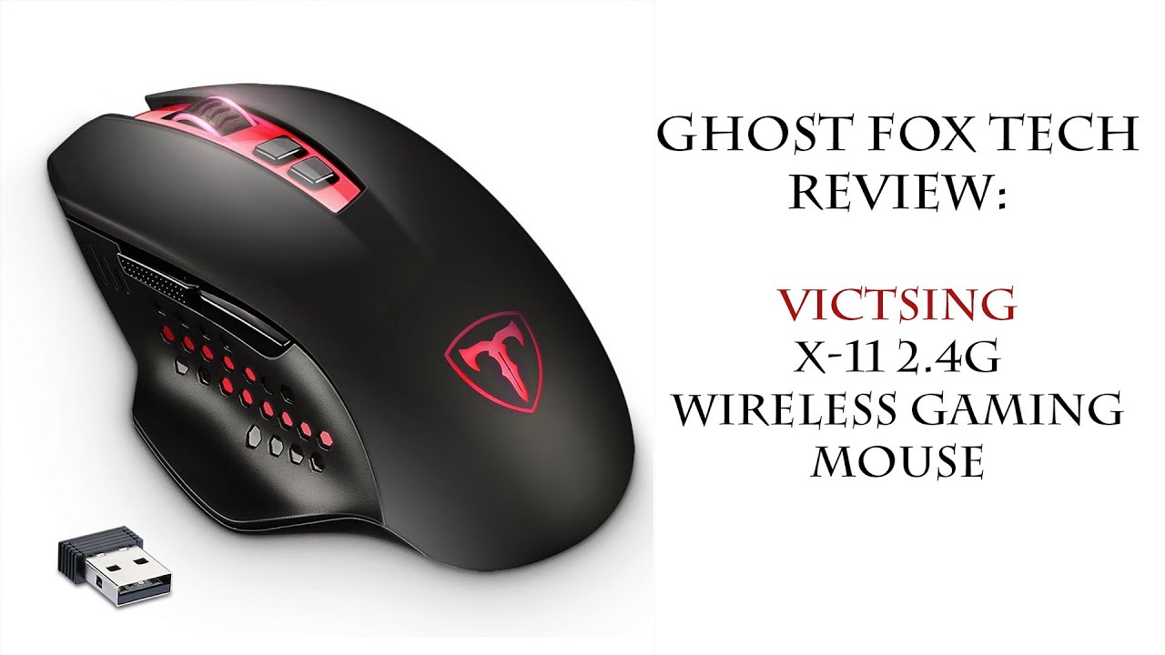 VicTsing X-11 2 4G Wireless Gaming Mouse - Review