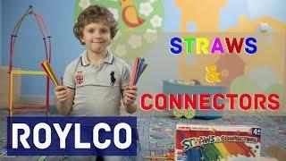 Roylco Straws and Connectors: обзор развивающего конструктора