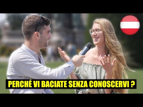 Cosa gli AUSTRIACI pensano degli ITALIANI ? Domande a Vienna - thepillow