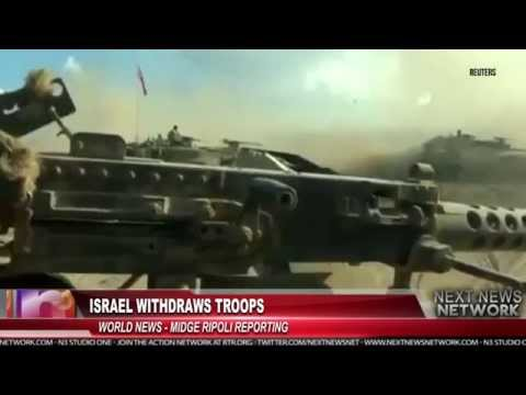 Israel Withdraws Troops