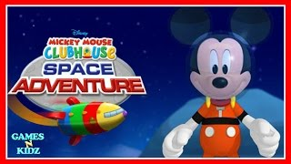 Mickey Mouse Clubhouse: Mickey's Space Adventure - Disney Junior Game For Kids