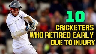 10 Cricketers who Retired Early due to Injury | Simbly Chumma