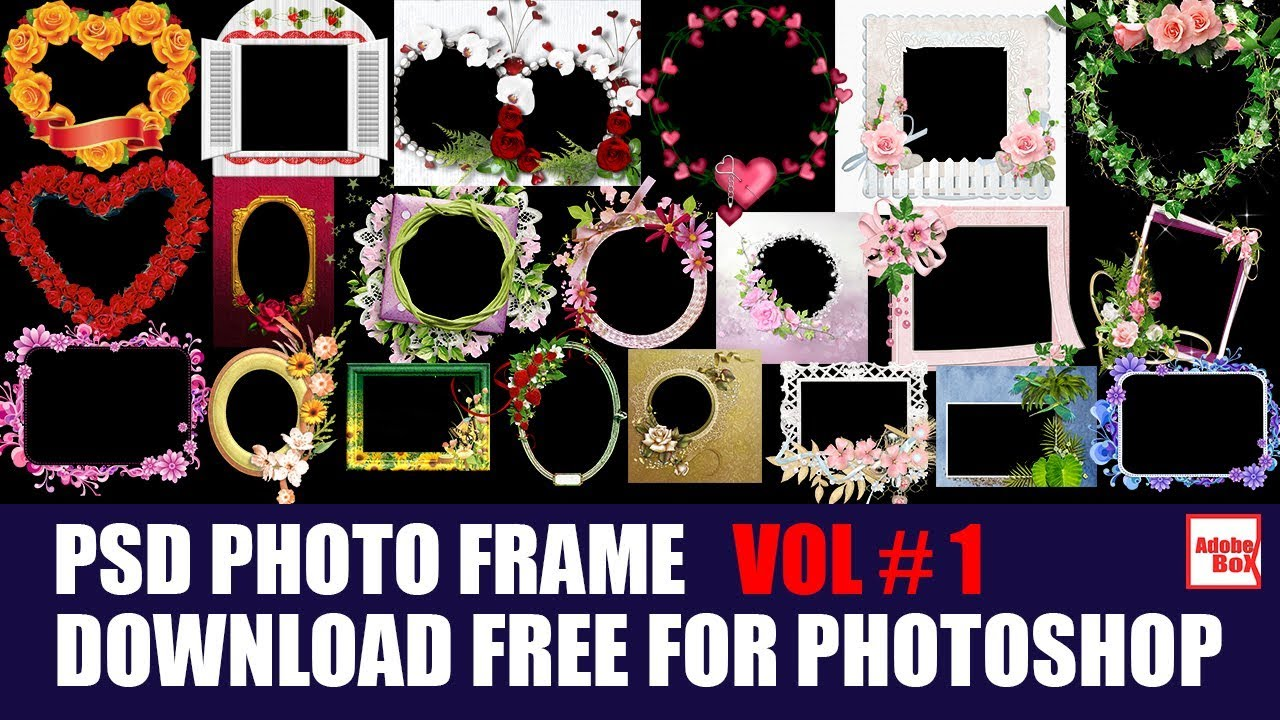 Adobe photoshop photo frame download