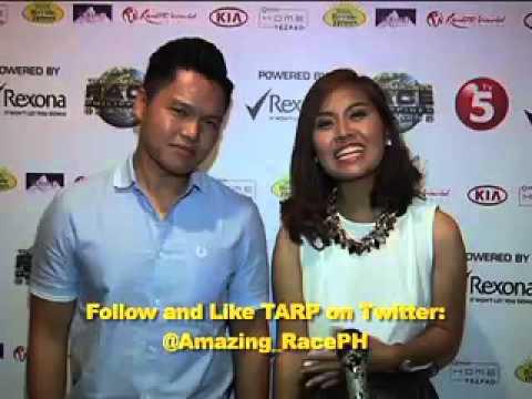 Jet and Yna follow them on Twitter @teammagkapatid #AmazingRacePH2