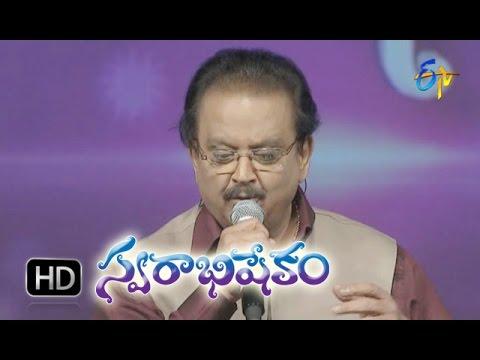 Chattaniki Nyayaniki Song - SP.Balasubrahmanyam Performance In ETV Swarabhishekam - 22nd Nov 2015