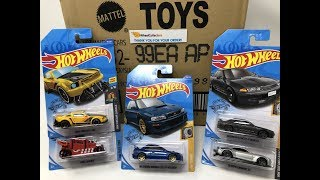 WHEELCOLLECTORS HOT OFF THE TRUCK! 2020 HOT WHEELS BASIC A CASE UNBOXING!