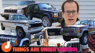 homepage tile video photo for David Tracy Tries Convincing Us That He's Not A Delusional Jeep Hoarder | Jalopnik