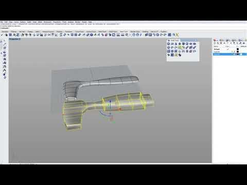 Extract Control Polygon Da Subdivision In Rhino7