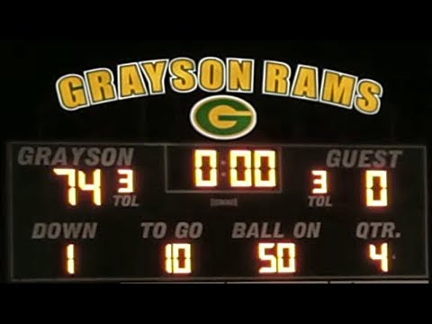 Grayson Rams (GA) vs International School of Broward (FL) | High School Football Highlights