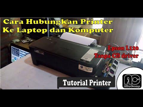 Install - Cara Install Driver Printer Epson L210.