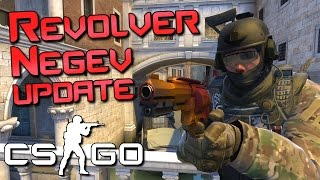 Revolver & Negev Viable? CS:GO Update
