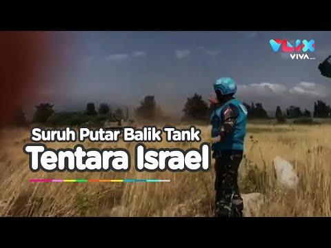 Video Detik Detik Prajurit TNI Hadang Tank Israel