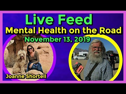 Live Feed - 11-13-19 Depression on the Road and How to Maintain Mental Health!