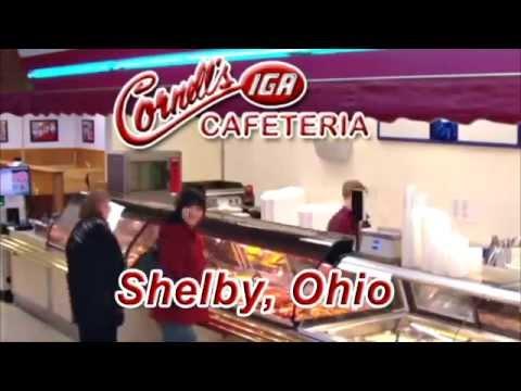 Cornells Cafeteria in Shelby Ohio.