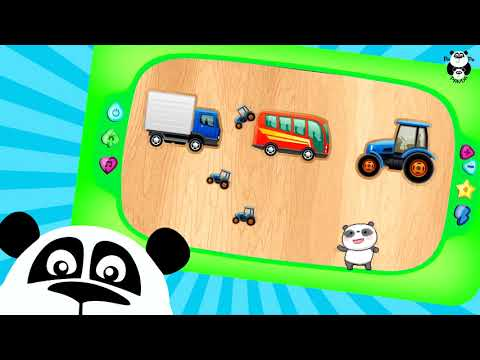 Пазлы для детей - Найди тень! Puzzles For Kids