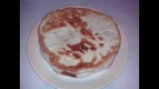лепёшки на сковороде( тесто которое долго не черствеет).