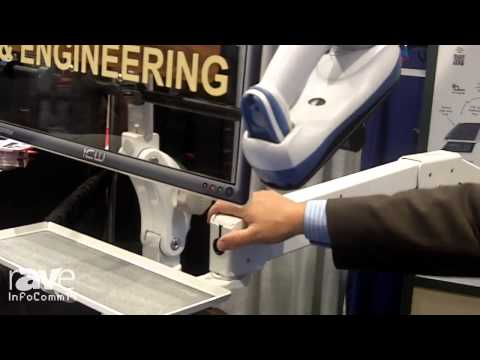 InfoComm 2014: ICW Shows its Double Elite Wall Track