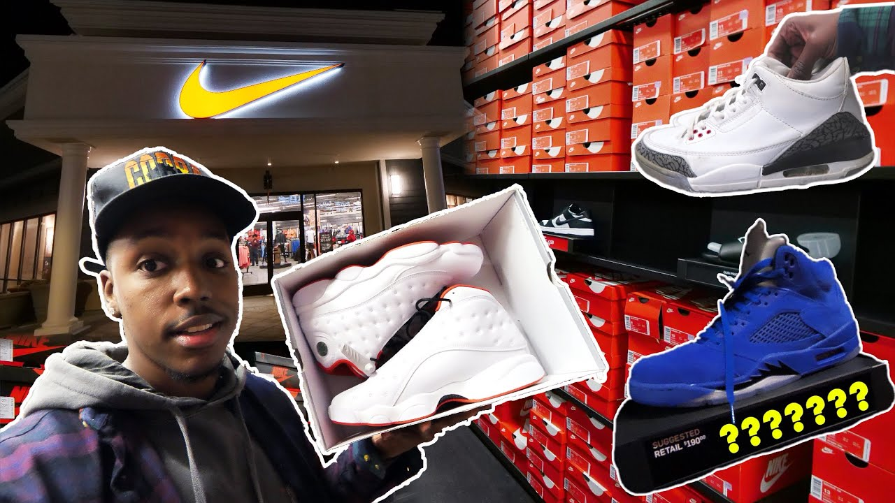 FINDING LIMITED SNEAKERS AT THE OUTLETS