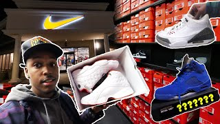 FINDING LIMITED SNEAKERS AT THE OUTLETS, ROSS, & MARSHALLS! JORDANS & HEAT FOUND! INSANE STEALS!