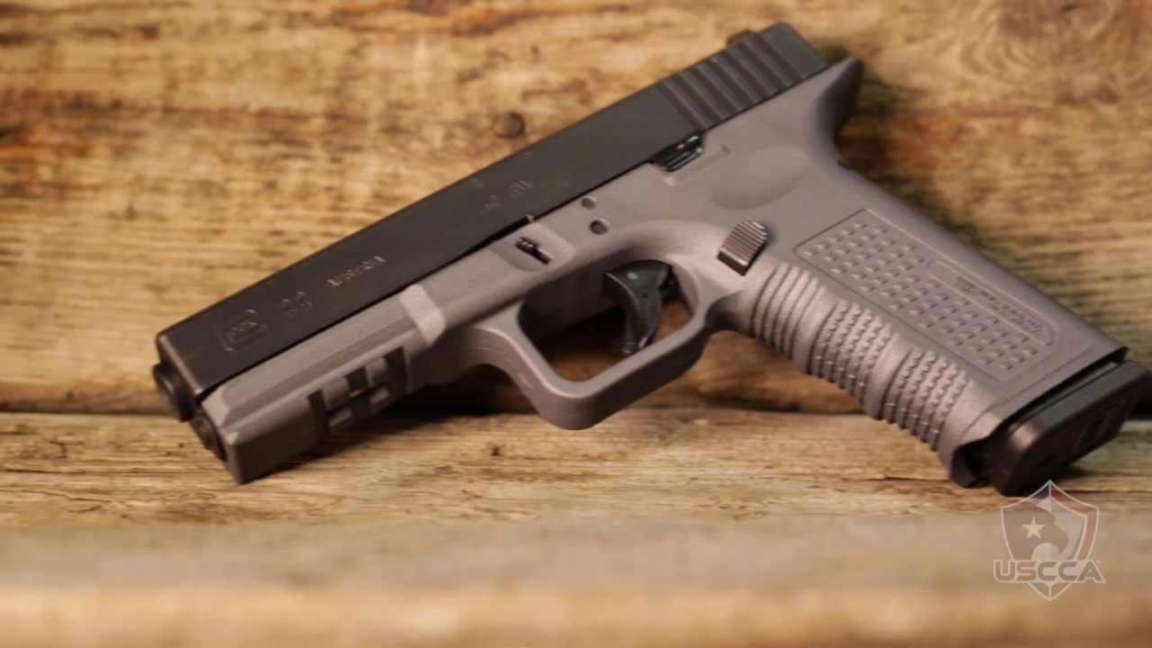 Gun Vault: Lone Wolf Frame For The Glock 22 - YouTube