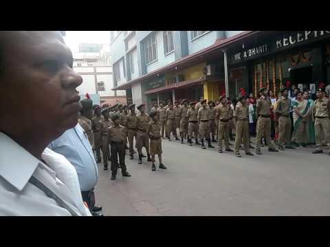 Cs Vidya Bharti Hindi medium 26 january NCC paraid