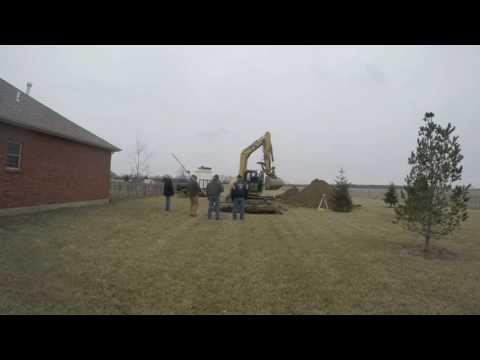 Tornado Storm Shelter Installation Ohio Easy Underground Shelter Install