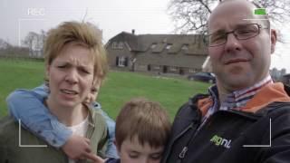 Familie Post vertelt over de zonneboiler