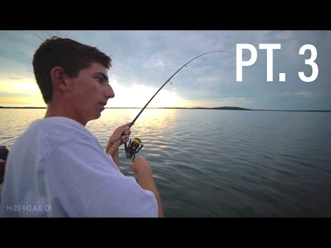 Lightning and Bass Fishing... Never Stop Tour Ep. 3