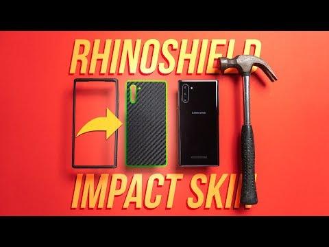 PERFECT Protective Combo?! - RhinoShield Impact Skin + CrashGuard NX For Samsung Note 10 - Review