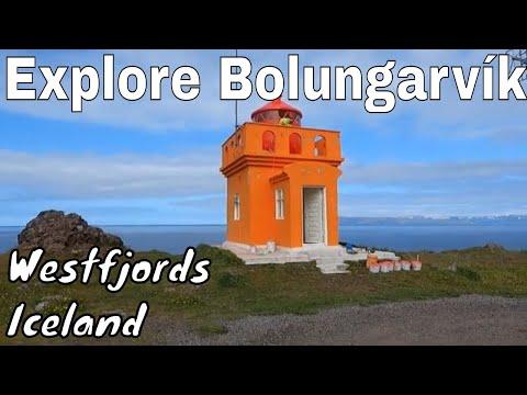 Explore Bolungarvík in the Westfjords of Iceland (Ósvör Maritime Museum and Óshólaviti Lighthouse)
