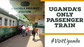 My First Ugandan Train Ride In Kampala. This Is Uganda's Only Passenger Train.
