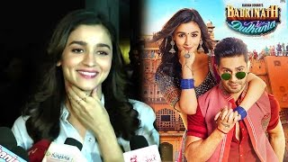 Alia Bhatt's CUTE Reaction On Success On Badrinath Ki Dulhaniya Movie