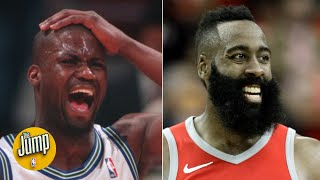 Harden, D-Wade, Isaiah Rider and the 5 best ankle-breaking step-backs ever | The Jump