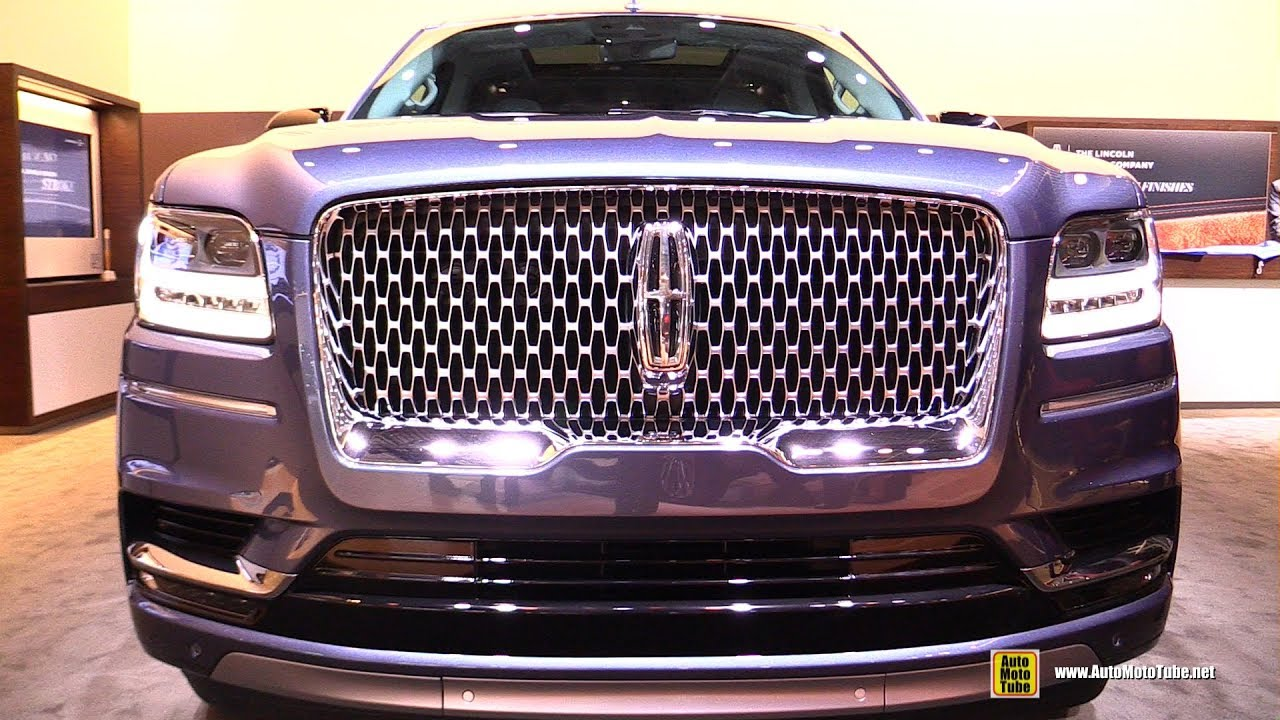 2018 Lincoln Navigator Exterior And Interior Walkaround 2017 New York Auto Show