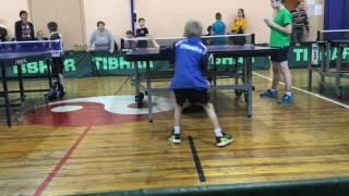 Детский турнир по настольному теннису