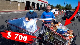ПОКУПКИ в COSTCO на 700 Шоппинг для СОНИ и КОЛИ Закупка еды на месяц ЦЕНЫ на ПРОДУКТЫ в Америке